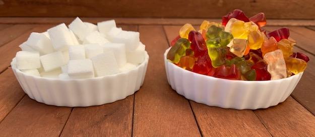 Süßigkeiten-Quiz